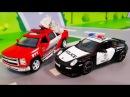 Мультики про машинки. Видео про полицейскую машинку – Приключения в Лего Сити. М...