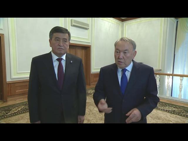 Встреча с Президентом Кыргызской Республики Сооронбаем Жээнбековым(30.11.17)