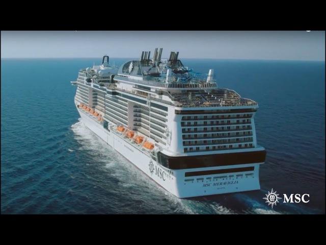 MSC Meraviglia - Ship visit
