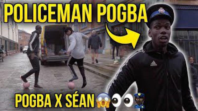 POGBA X SÉAN - PANNA CRIMES ! 😱👮🏻 Adidas Predator Commercial making of !