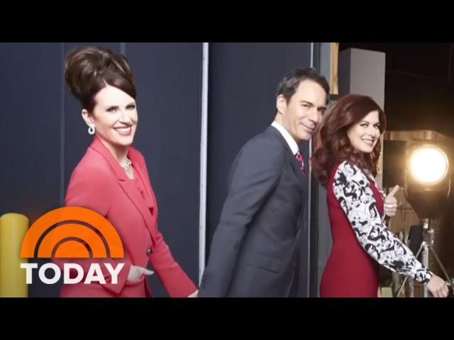 Звезды сериала Will Grace о своем возвращении ['Will And Grace' Reboot: Stars Say It Feels Like They Never Left | TODAY]