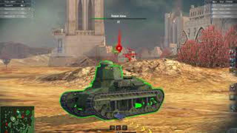 World Of Tanks: Blitz. T1 Cunningham. Мастер. Макрагг (Бой 23)