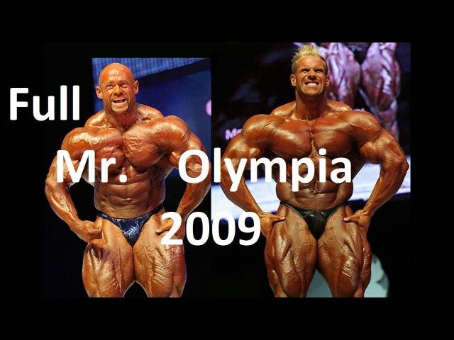 MR OLYMPIA 2009 Jay Cutler Branch Warren