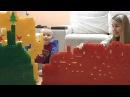 Сеня строит Домик из большого конструктора Мега Блокс Учим Цвета с кубиками Вид