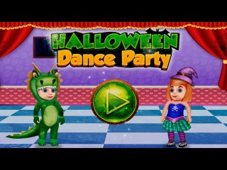 Halloween Dance Party  Kids Gameplay Android Dancing Game for Children