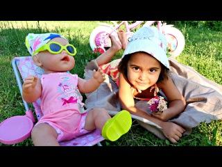 БЕБИ БОН и Маша #МиниМи на пикнике 🍀 #Куклы и Игры для Девочек 🍼 Развивающее вид...