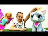 #Барби ФЕЯ исполняет Желание ? ГОВОРЯЩАЯ КОШКА! Мультики и Игры для Детей / Кукл ...