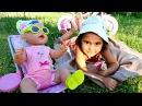 БЕБИ БОН и Маша МиниМи на пикнике 🍀 Куклы и Игры для Девочек 🍼 Развивающее вид...
