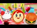 ВКУСНЫЕ РЕЦЕПТЫ длядетей 🍔 Блинчики, Гамбургер и Десерты! 🍓 Пицца Маргарита Г