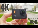 Apeman A80 4K 24fps WIFI Action 20MP Camera 2.0 170D go Waterproof pro Notavek 96660 Sport Cam 1080P Ultra HD Car Dash DVRs