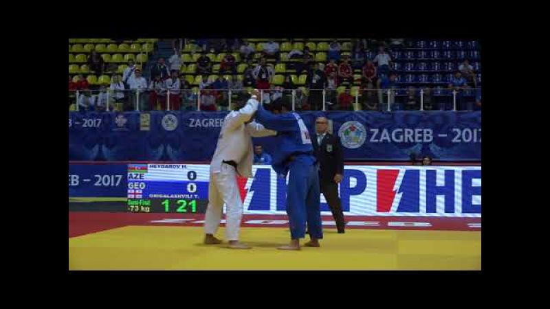 World Championship Juniors 2017: HEYDAROV Hidayat (Azerbaijan) - GRIGALASHVILI Tato (Georgia)