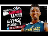 Donovan Mitchell 2017 Summer League Offense &amp Defense Highlights - Utah Jazz Debut!