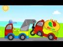 Машинки в ЛЕГО мультике - Поиграем в LEGO DUPLO