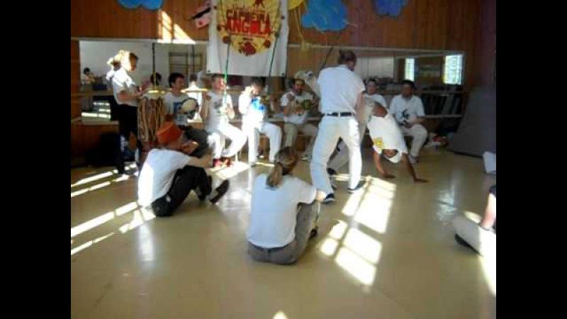 Escola Cajueiro Estonia with CM Dorado / playing Sven and Canelão (Angoleiros do Sertão)
