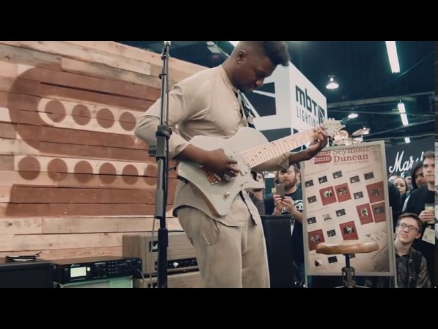 Tosin Abasi 'The Woven Web' Seymour Duncan NAMM 2016