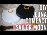 How To Make  Luna Mirrored Makeup Compact - Sailor Moon Inspired