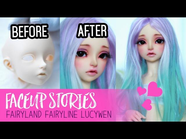 Repainting Dolls - Fairyland Lucywen - Faceup Stories ep.51