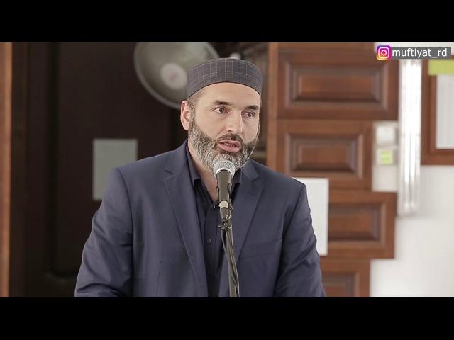 Председатель Совета имамов г. Хасавюрт Казим Темирбулатов о благонравии