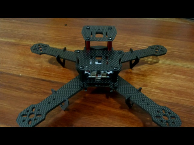 Zmr250 mod, zmr spider, 210 build