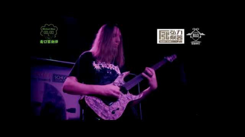 Keith Merrow 2017 Schecter Guitar Clinic Tour in China