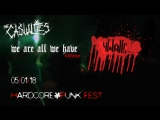 4Walls - We Are All We (The Casualties cover)