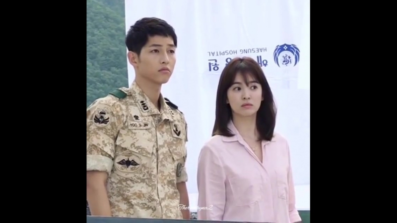 Song Song couple (behind the scenes) DOTS