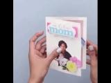 3D открытка маме