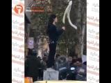 Тегеран, женщина без хиджаба -- новые кадры