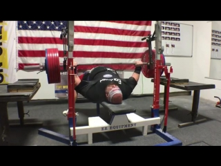 Блейн Самнер - жим лежа 320 кг в софте