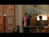 15-Сен-Санс. Ave Maria. Евгения Малеева, Юлия Лотова (орган)