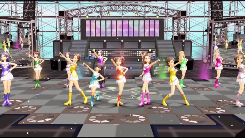 """[MMD] THE iDOLM@STER 2 """"自分REST@RT"""" (HD 1080p)"""