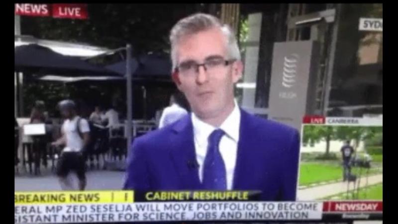 Австралийское телевидение «испытало» телепортацию в прямом эфире