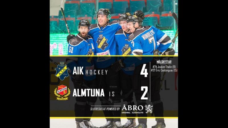 Highlights AIK Almtuna Hovet