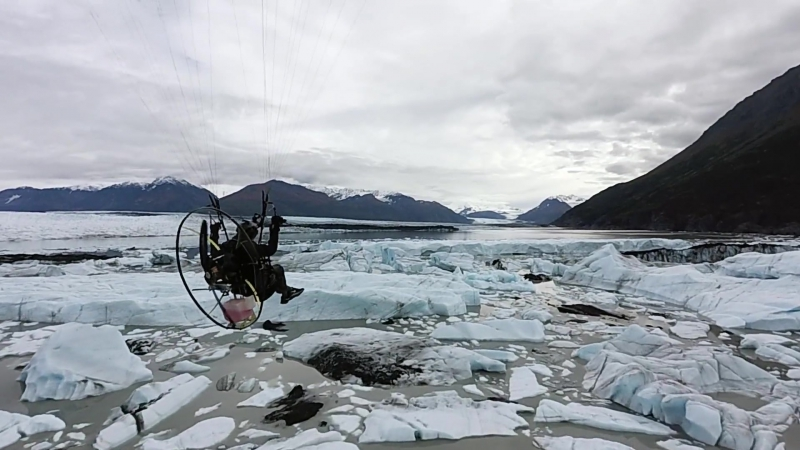 Knik Glacier Flight