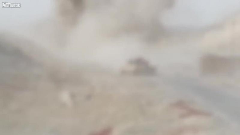 Шахид-мобиль расстреляли из танка - Неурод