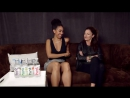 Michelle Gomez and Pearl Mackie on interview SDCC 2017