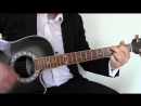 Ziggy Stardust cover fingerstyle guitar solo with free TAB