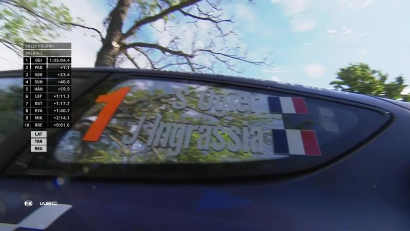 WRC 2017 ORLEN 74th Rally Poland (SS 11)