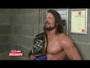 WWE EXCLUSIVE: Hard Work Pays Off For AJ Styles (Nov. 7, 2017)