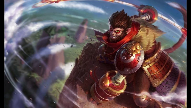Multiplayer mode ARAM. Howling Abyss. Wukong