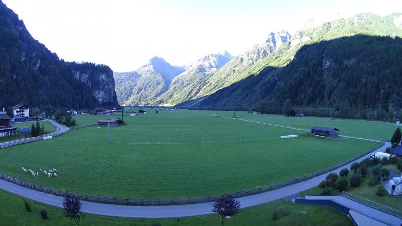 Утро в Längenfeld - Ötztal, Tyrol