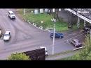 ДТП на перекрестке ул. Мерлина - Трофимова Бийск.