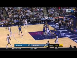 NBA 17-2018 /  / Golden State Warriors @ Memphis Grizzlies / Full Game HD