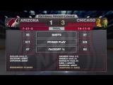 Anisimov, Crawford lead Blackhawks to 3-1 victory
