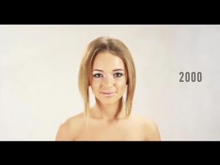 Эволюция женской красоты в Литве за последние 100 лет