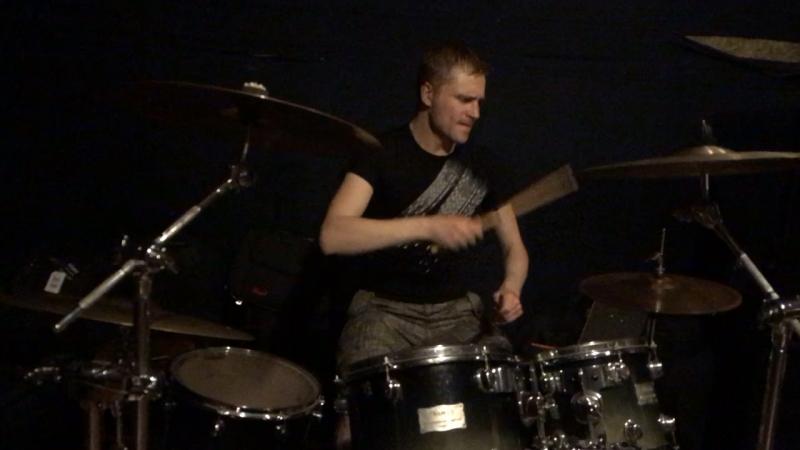 Denis King crimson - Three of a perfect pair drum cover 17/02