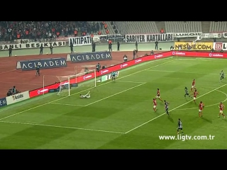 2015 - 2016 Sezonu - Beşiktaş-Galatasaray dakika 56 gol Mario Gomez