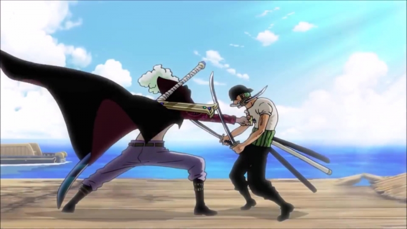 One Piece Episode Of East Blue - ZORO VS MIHAWK