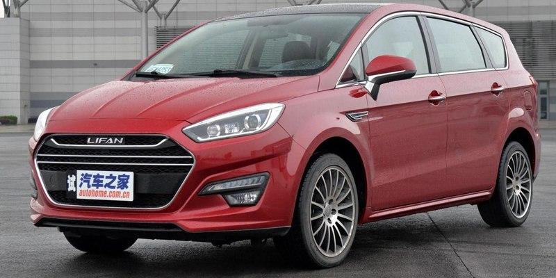 Минивэн от Lifan: очень похоже на Ford, но дешевле