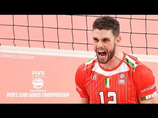 TOP 15 » Amazing Volleyball Moments by Enrico Cester. Club World Championship.